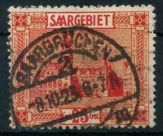 SAAR LANDSCHAFTEN Nr 89 Zentrisch Gestempelt X8864CE - 1920-35 Saargebiet – Abstimmungsgebiet