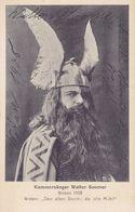 TH2318    --    KAMMERSANGER WALTER SOOMER  --  WOTAN 1908  --  VERLAG: WAGNERMUSEUM , CAFE SAMMET, BAYREUTH - Opéra