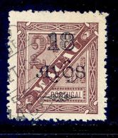 ! ! Macau - 1902 D. Carlos 18 A (Perf. 13 1/2) - Af. 118b - Used - Oblitérés