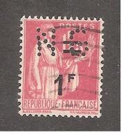Perfin/perforé/lochung France No 483 NG Nouvelles Galeries (17) - France