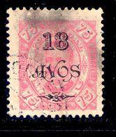 ! ! Macau - 1902 D. Carlos 18 A - Af. 121 - Used - Macao