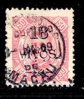 ! ! Macau - 1902 D. Carlos 18 A - Af. 122 - Used - Macao