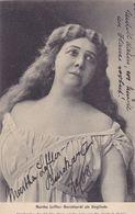 TH2321   --    MARTA LEFFLER - BURCKHARDT ALS SIEGLINDE  --  VERLAG: WAGNERMUSEUM , CAFE SAMMET, BAYREUTH - Opéra