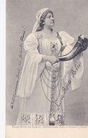 TH2322   --    REUSS - BELCE  ALS GUDRUN   --  VERLAG: WAGNERMUSEUM , CAFE SAMMET, BAYREUTH - Opéra