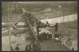 NORTH MACEDONIA DELCEVO CAREVO SELO Opening Ceremony Bridge River Bregalnica Old Postcard (see Sales Conditions) 02248 - Macédoine