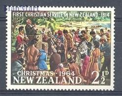 New Zealand 1964 Mi 435 MNH ( ZS7 NZL435 ) - Noël