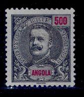 ! ! Angola - 1898 D. Carlos 500 R - Af. 51 - MH - Angola