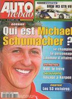 Auto Hebdo 2001 Dossier Michael Schumacher P 16 à 37 + Kerpen Ralf Schumacher - Philippe Couesnon Sébastien Loeb - Sport