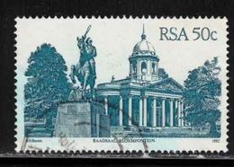 REPUBLIC SOUTH AFRICA Scott # 587 Used - Raadsaal Bloemfontein - África Del Sur (1961-...)