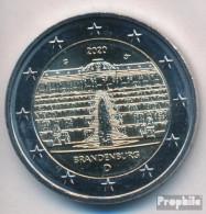 BRD 2020 G Stgl./unzirkuliert Auflage: 6 Mio. 2020 2 Euro Schloss Sanssouci - Allemagne