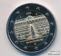 BRD 2020 F Stgl./unzirkuliert Auflage: 6 Mio. 2020 2 Euro Schloss Sanssouci - Allemagne