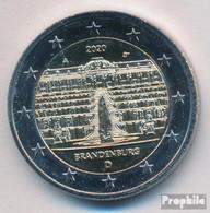 BRD 2020 A Stgl./unzirkuliert Auflage: 6 Mio. 2020 2 Euro Schloss Sanssouci - Allemagne