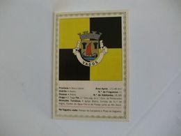 Brasão De Armas De Vagos Portugal Portuguese Pocket Calendar 1991 - Calendari