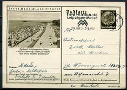 """German Empires 1940 Ganzsache Mi.Nr.P236/40-156-1-B 6""""Lernt Deutschland Kennen!-Kühlungsborn,Ostseebad """"MWST""""1 GS Used - Allemagne"""