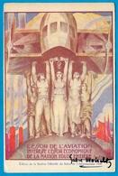 CPA Illustrateur GABRIEL MOISELET Contresignée Et Adresse Autographe SALON AERONAUTIQUE 1926 * Aviation 75014 Paris - Aviation