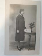 Carte Postale Ancienne Photo De Femme Siècle Dernier - Fotografía