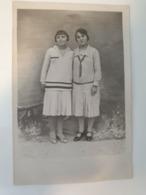 Carte Postale Ancienne Photo De Femmes Siècle Dernier - Fotografía