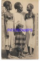 136745 AFRICA GONDO COSTUMES FOULBE WOMEN SEMI NUDE POSTAL POSTCARD - Non Classificati