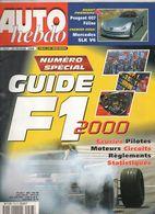 Auto Hebdo Guide 2000 Mika Hakkinen Michael Schumacher Jenson Button Colin McRae Jean Alesi Jacques Villeneuve Mercedes - Sport