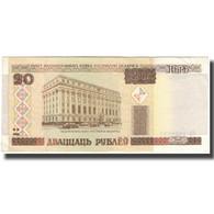 Billet, Bélarus, 20 Rublei, 2000, KM:24, TB+ - Belarus