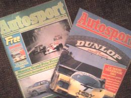 Autosport 1984 Monaco Ayrton Senna Alain Prost Stefan Bellof Niki Lauda EXTRA 40 Page Le Mans Yearbook 1984 - Deportes