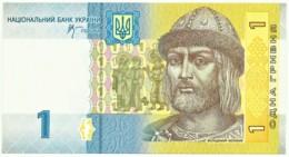 Ukraine - 1 Hryvnia - 2006 - Unc. - Pick 116A.a - Serie ВС - Prince Volodymyr - Ukraine