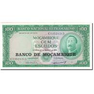 Billet, Mozambique, 100 Escudos, 1961, 1961-03-27, KM:109a, NEUF - Moçambique