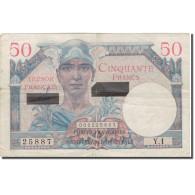 Billet, France, 50 Francs, 1956, 1956-11-01, KM:M16, TB+, Fayette:41.1 - Billets
