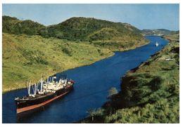 (B 10) Panama Canal Shipping - Panama