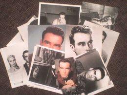 20 Photos + 1 Carte Sur Montgomery Clift ! Grandes Tailles Noir Et Blanc Couleur - Fotos