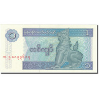 Billet, Myanmar, 1 Kyat, Undated (1990), KM:69, NEUF - Myanmar