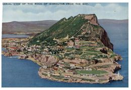 (B 10) Gibraltar - Very Old - Rock By Air - Gibraltar