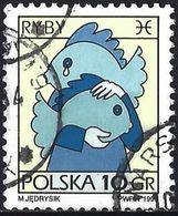 Poland 1996 - Mi 3612x - YT 3374 ( Zodiac Signs : Pisces ) Standard Paper - 1944-.... République