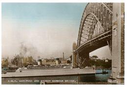 (B 11) Australia - NSW - Miriposa Under Harbour Bridge (very Old) - Sydney