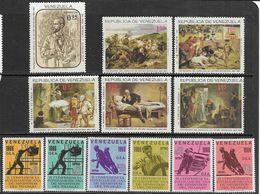 Venezuela   1966   Michelena Art Set & Workers Set Of 6   MLH   2016 Scott Value $9.75 - Venezuela