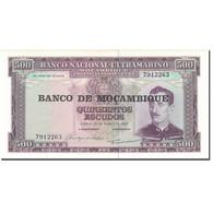 Billet, Mozambique, 500 Escudos, 1967, 1967-03-22, KM:110a, NEUF - Mozambique
