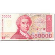 Billet, Croatie, 50,000 Dinara, 1993, 1993-05-30, KM:26a, NEUF - Croatie