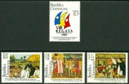 DOMINICAN REPUBLIC 1989 DISCOVERY OF AMERICA** (MNH) - Dominicaine (République)
