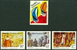 DOMINICAN REPUBLIC 1986 DISCOVERY OF AMERICA** (MNH) - Dominicaine (République)