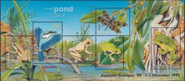 Australia 1999 Small Pond Sc 1790h MNH Ovpt Adelaide - Mint Stamps
