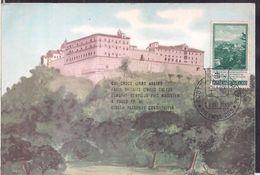 Vaticano - Cartolina Postale - Abbazia Di Montecassino - 1965 - Circulee - Cygnus - Vatican