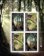 CEPT / Europa 2011 Roumanie N° BF 405 ** Les Fôrets - Cerf Et écureuil - 2011