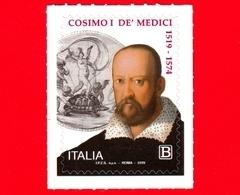 Nuovo - MNH - ITALIA - 2019 - 500 Anni Della Nascita Di Cosimo I De' Medici – Ritratto - B - 2011-...: Ungebraucht