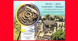 Nuovo - MNH - VATICANO - 2019 - 25 Anni Relazioni Diplomatiche Tra Santa Sede E Israele – Cafarnao - 1.15 - Congiunta - Blocs & Feuillets