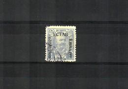 1905: MiNr. 51 VI, Vertauschte Farbe, Gestempelt, VÖB Prüfung - Montenegro