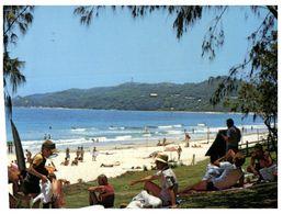 (B 12) Australia - NSW - Byron Bay Beach (with Stamp) - Australie