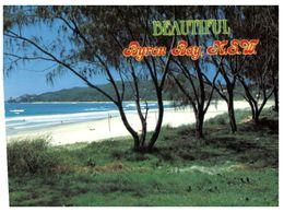 (B 12) Australia - NSW - Byron Bay Beach With Stamp - Australie