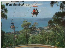 (B 12) Australia - VIC - Arthur's Seat Chairlift In West Rosebud - Australie