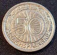 Germany 50 Pfennig 1931 A - [ 3] 1918-1933 : Weimar Republic