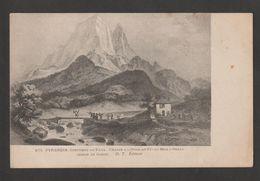 """CPA - Pyrenées - """"Chasse à L'Ourse Au Pic Du Midi D'Ossau"""" (Dessin De Gorse) - Osos"""
